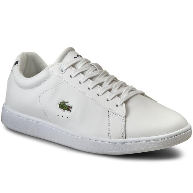 Sneakersy LACOSTE - Carnaby Bl 1 7-32SPW0132001 Wht