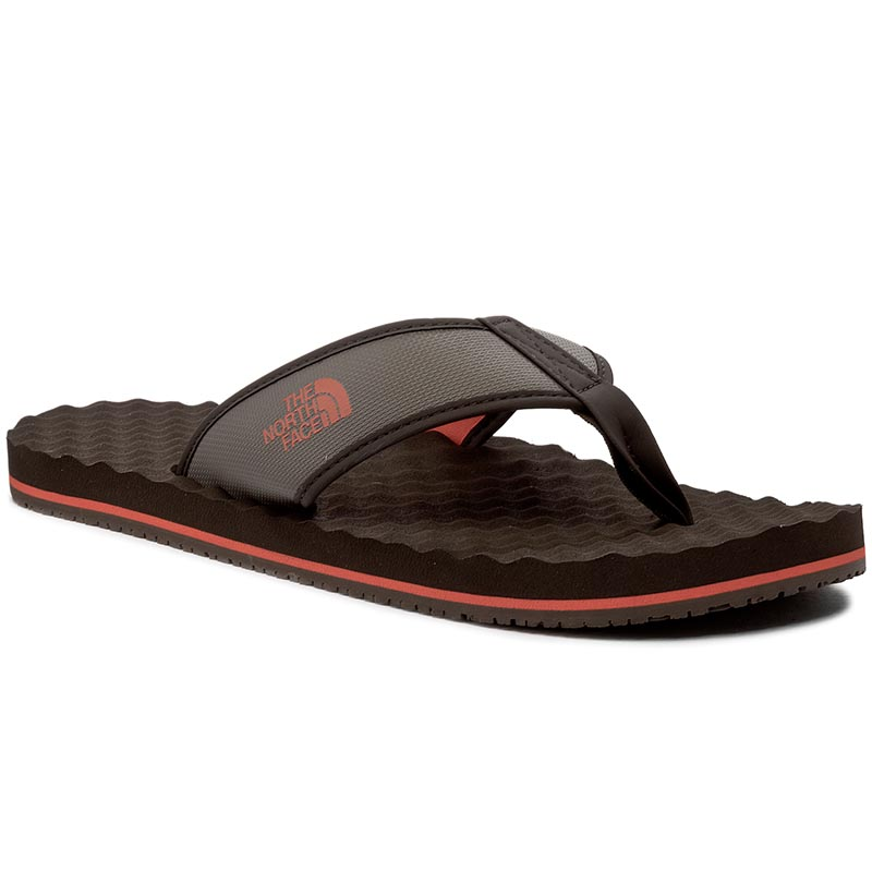 klapki basenowe japonki the north face - m basecamp flip flop t0abperdq falcnbn/tbtnorg - the north face