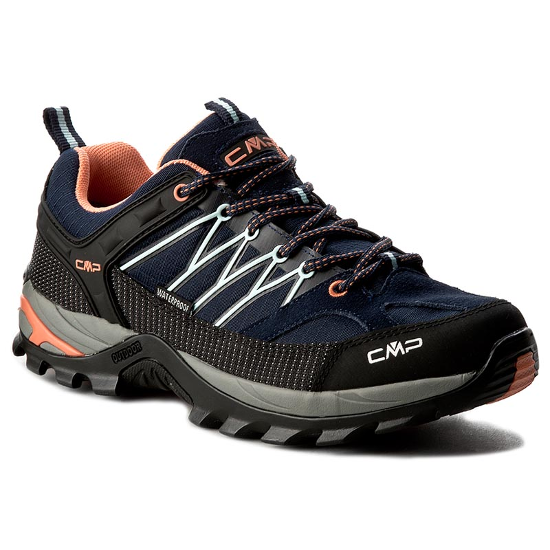 Turistiniai batai CMP - Rigel Low Wmn Trekking Shoes Wp 3Q54456 B.Blue/Giada/Peach 92AD