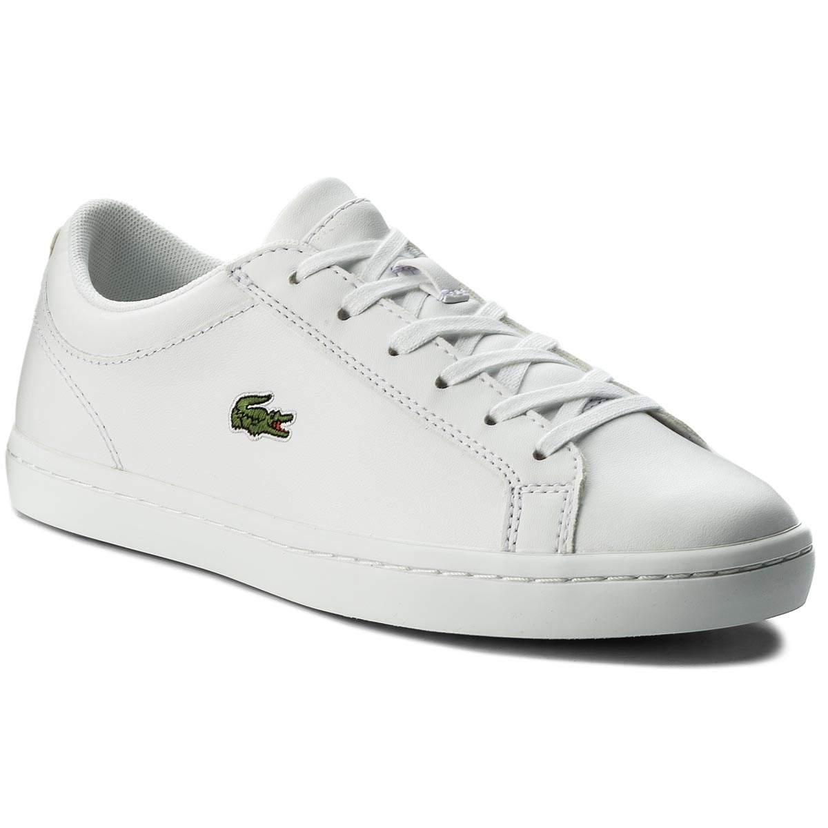 0b855a73f34af Sneakersy LACOSTE - Straightset Bl 1 Spw 7-32SPW0133001 Wht