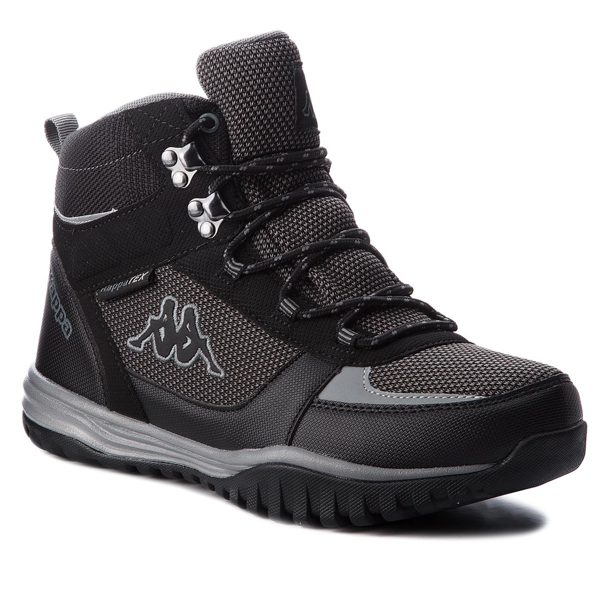 Turistiniai batai KAPPA - Mountain Tex 242369 Black/Grey 1116