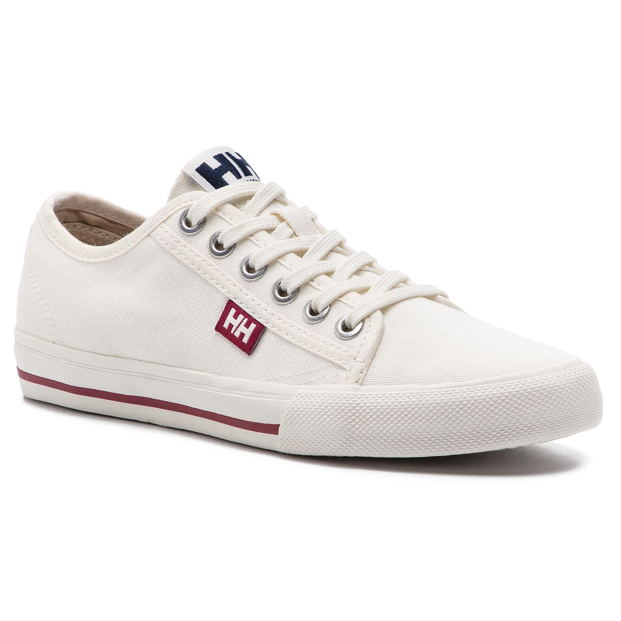 Sportbačiai HELLY HANSEN - Fjord Canvas Shoe V2 114-66.011 Off White/Beet Red/Navy