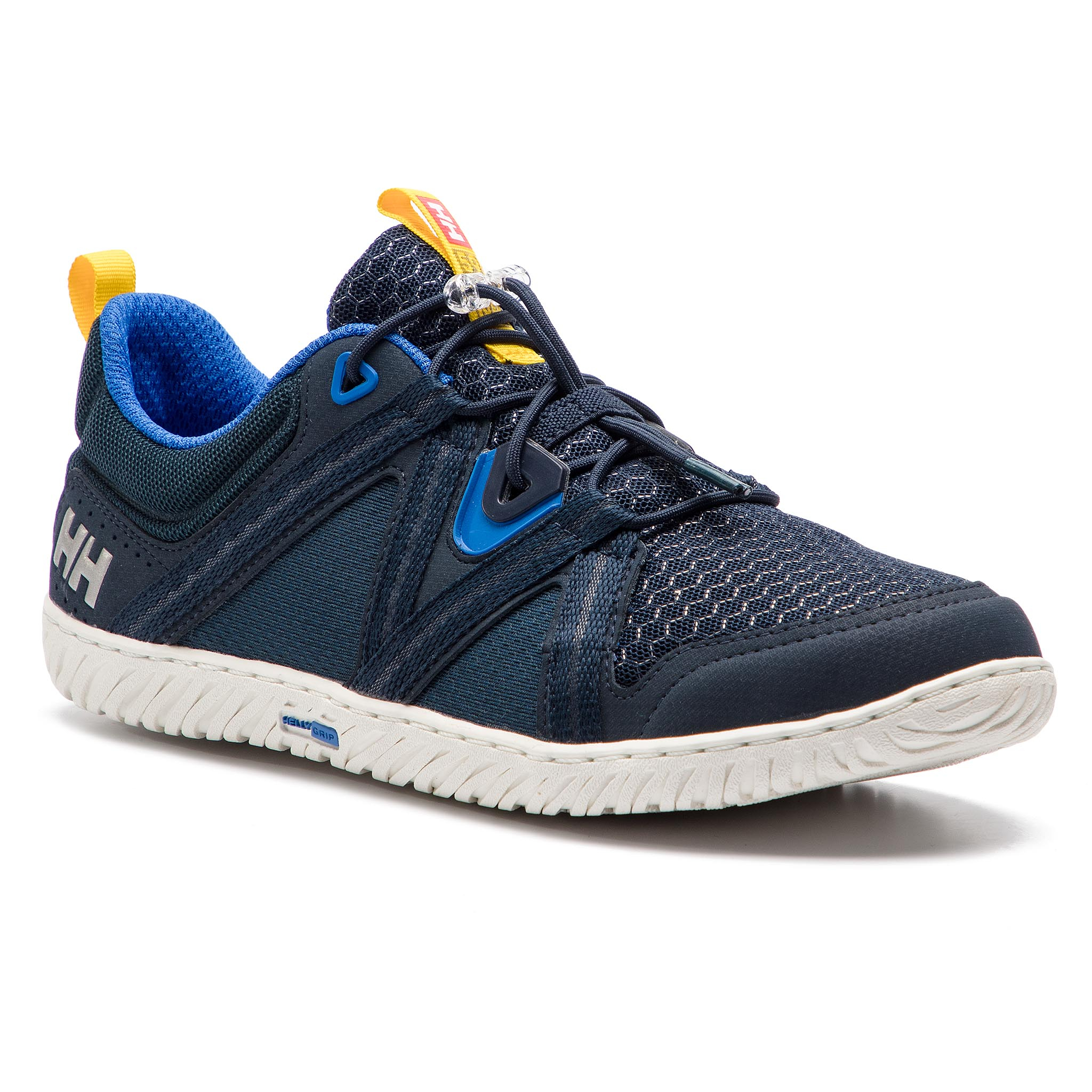 Batai HELLY HANSEN - Hp Foil F-1 113-15.597 Navy/Olympian Blue/Off White/Neon Yellow/Antique Silver Met