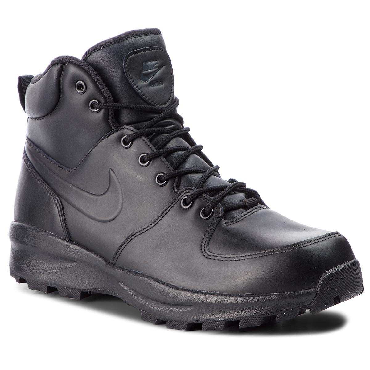 Batai NIKE - Manoa Leather 454350 003 Black/Black/Black