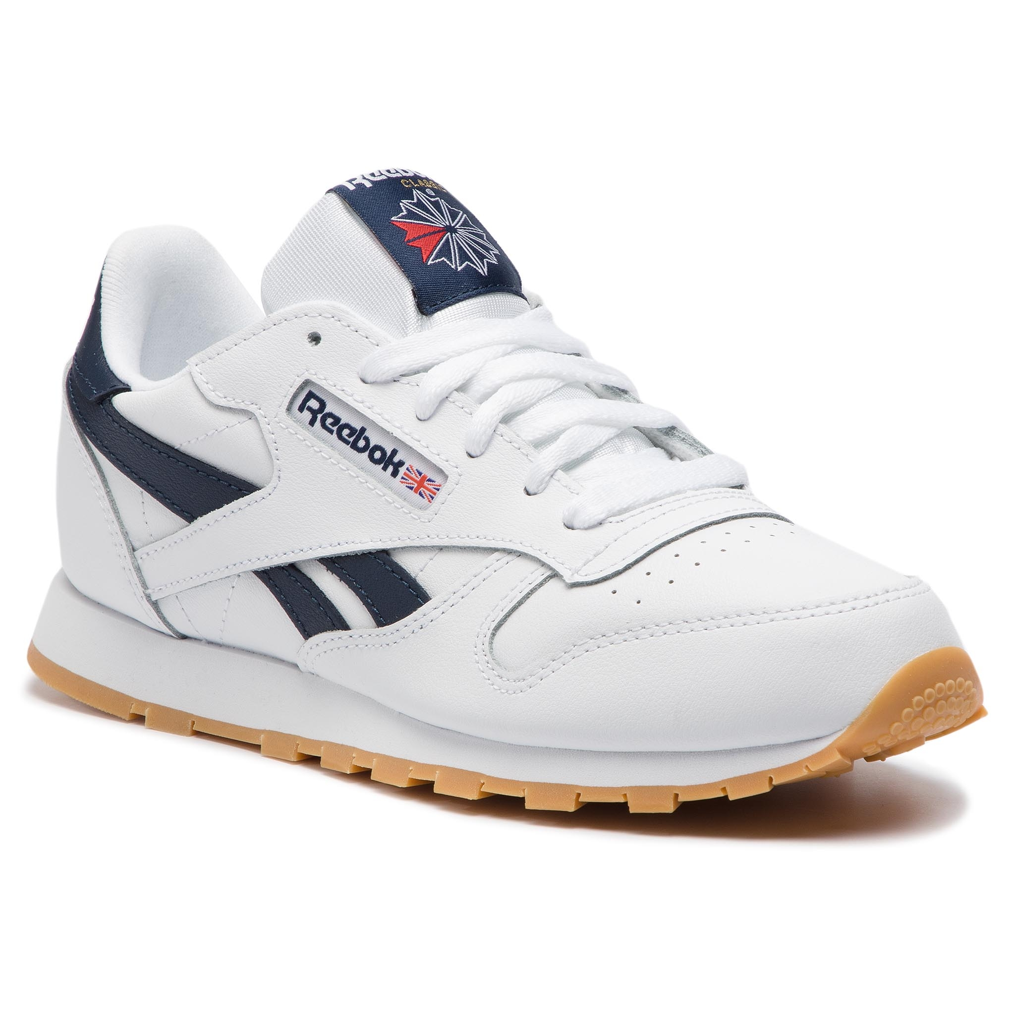 938d06c8f4531 Buty Reebok - Classic Leather DV4567 White/Collegiate Navy/Gum ...