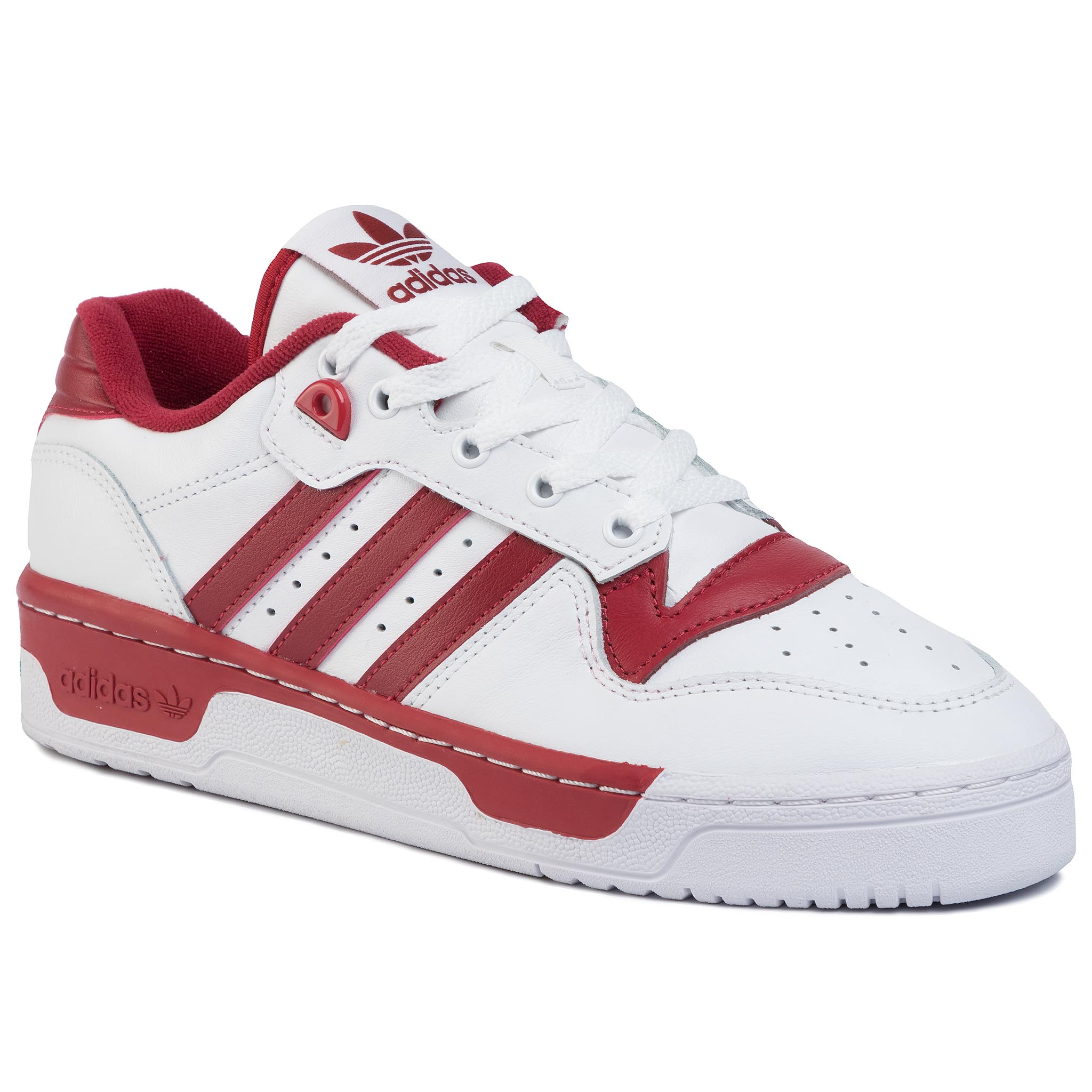 Batai adidas - Rivalry Low EE4967 Ftwwht/Ftwwht/Actmar