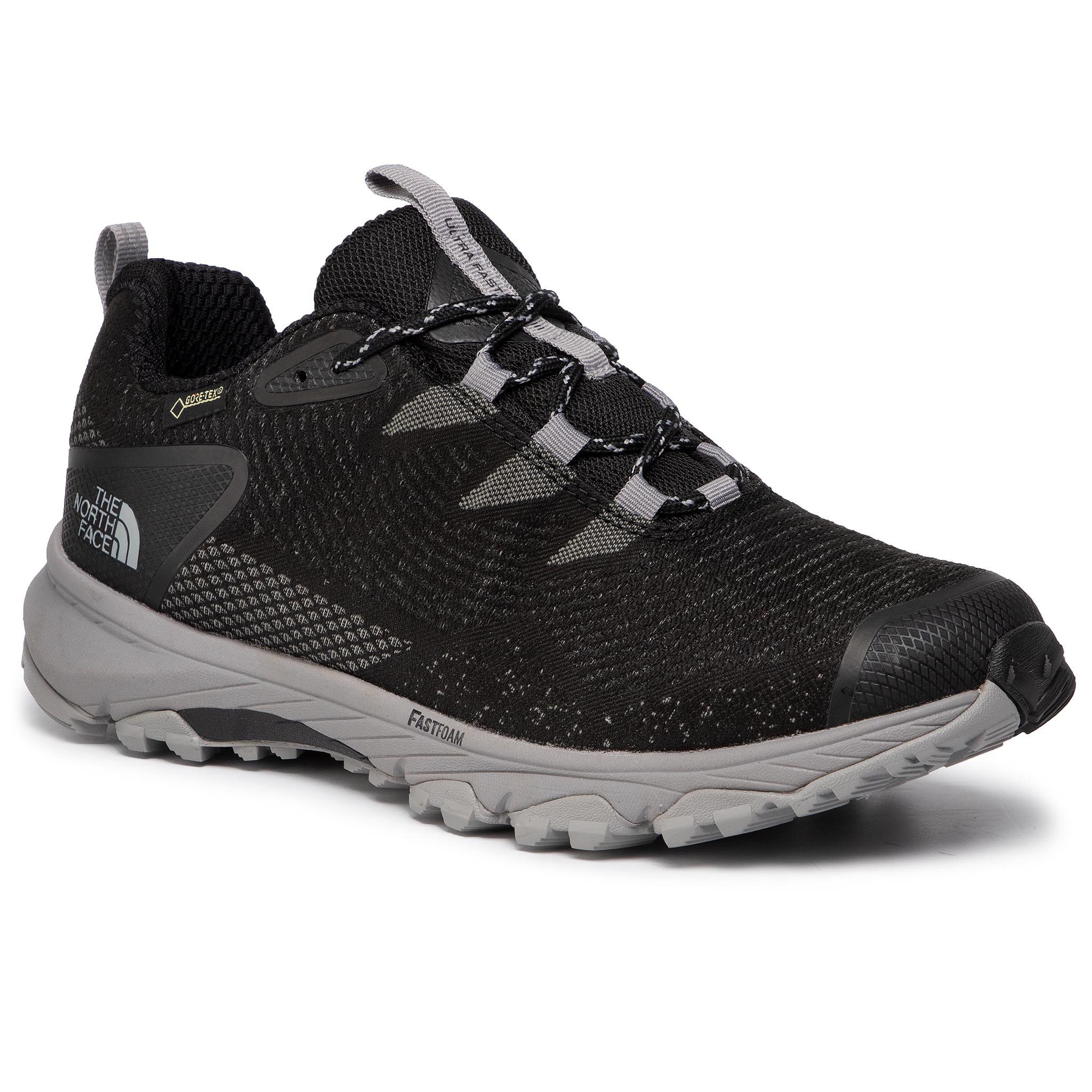 Batai THE NORTH FACE - Ultra Fastpack III Gtx (Woven) GORE-TEX T93MKWH23 Tnf Black/Meld Grey