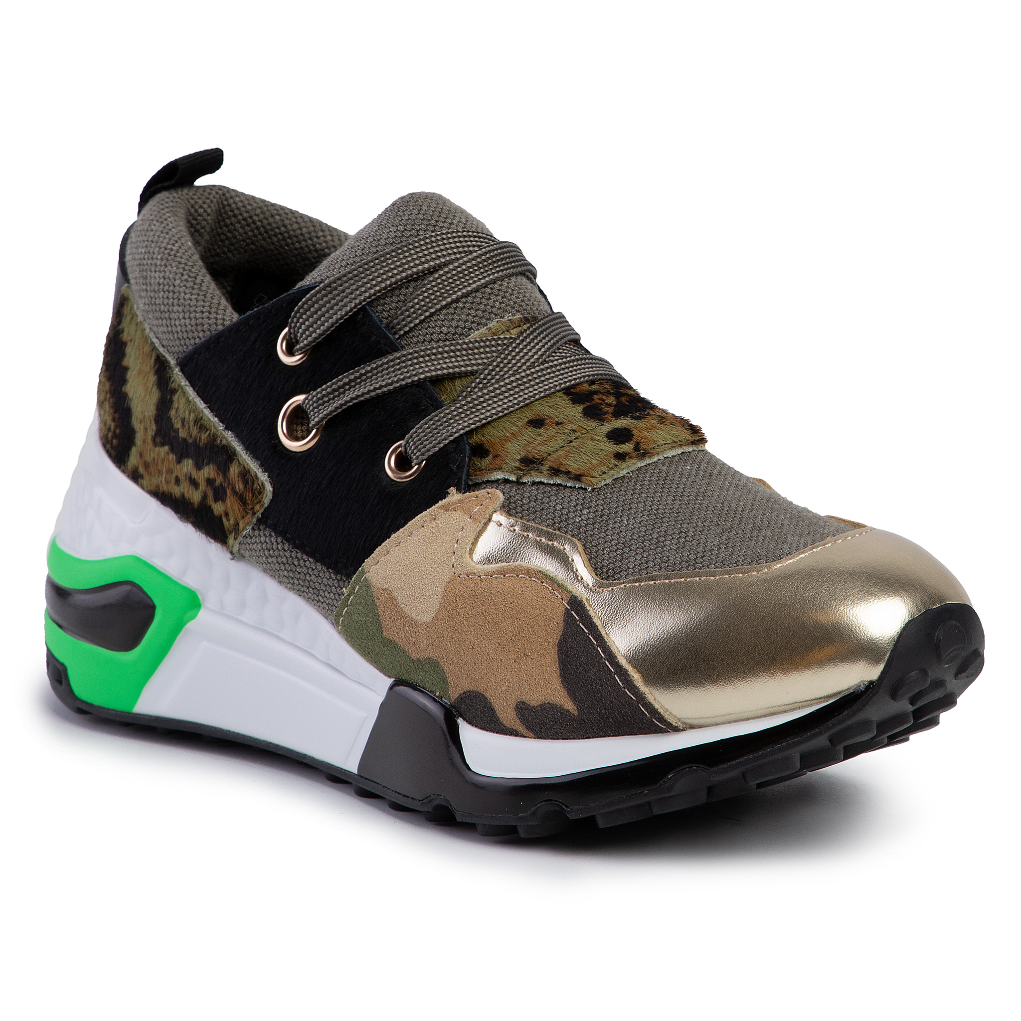 Sneakersy STEVE MADDEN - Cliff SM11000185-04005-163 Gold Multi
