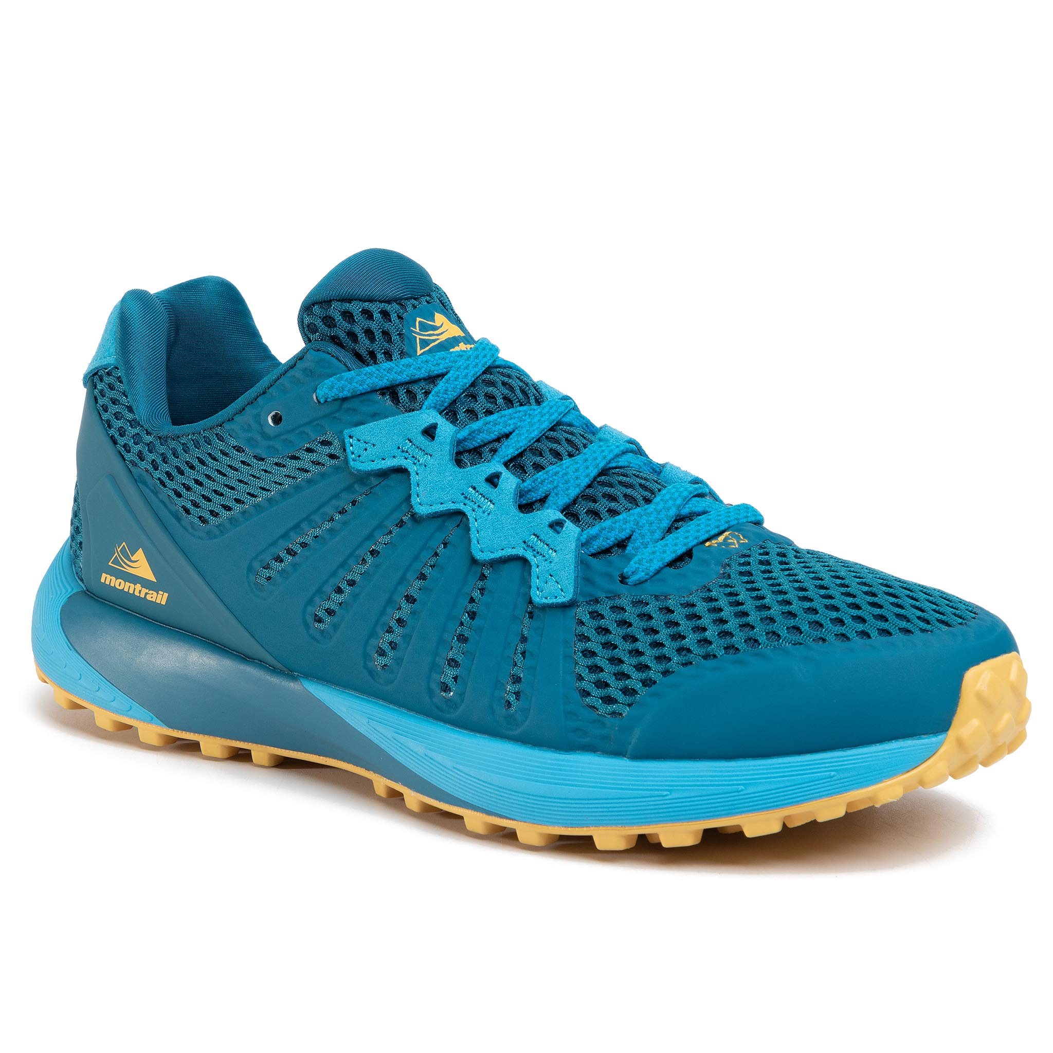 Batai COLUMBIA - Montrail F.K.T. BM0109 Dark Turquoise/Golden Nugget/Turquoise Sombre/Pepite D'Or 435