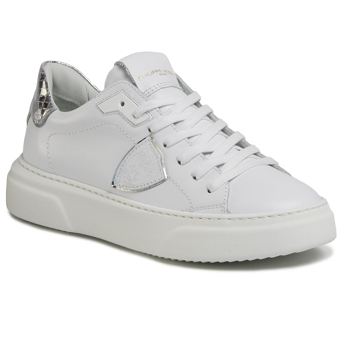 Sneakersy PHILIPPE MODEL - Temple BYLD VY04 Blanc