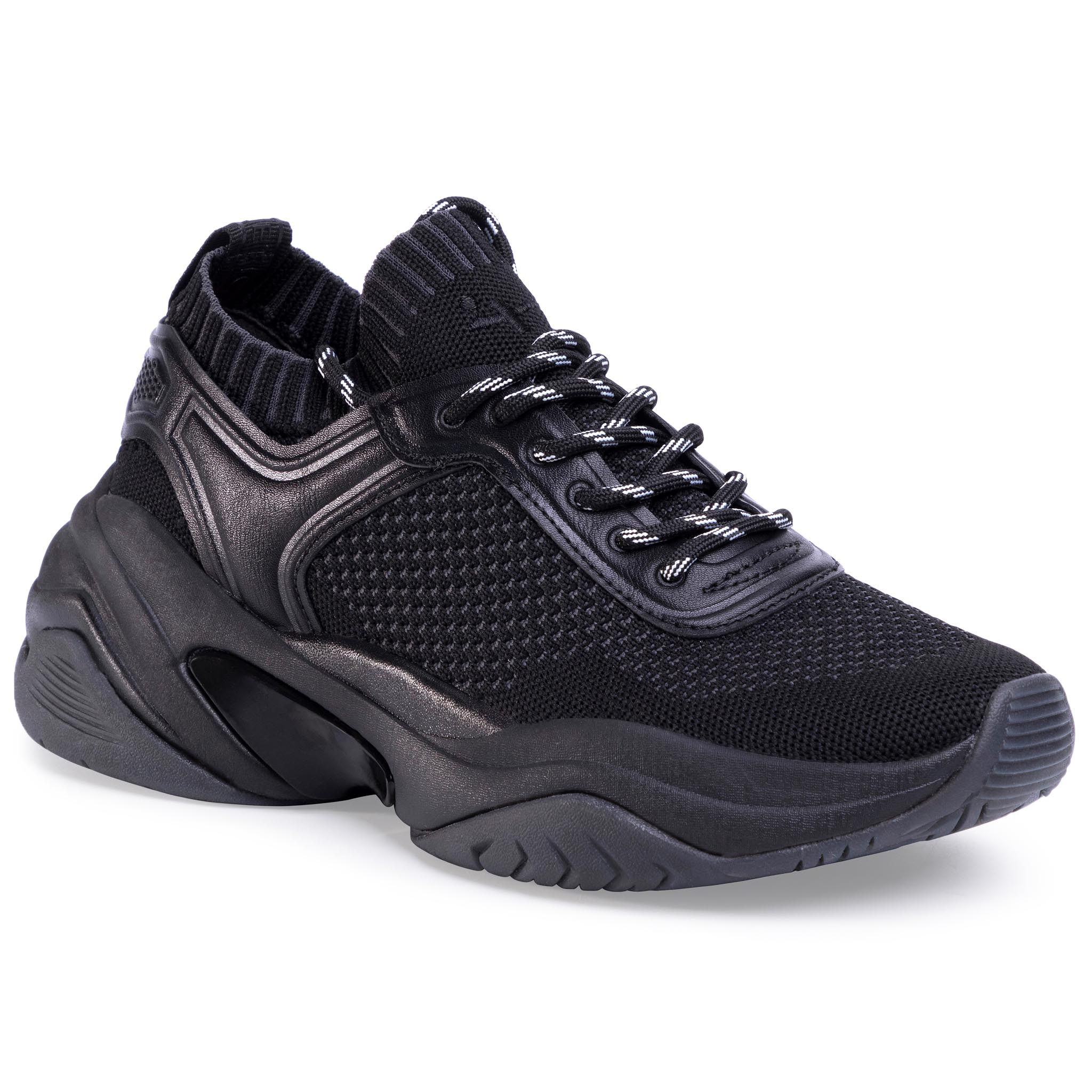 Sneakersy TAMARIS - 1-23736-24 Black Uni 007