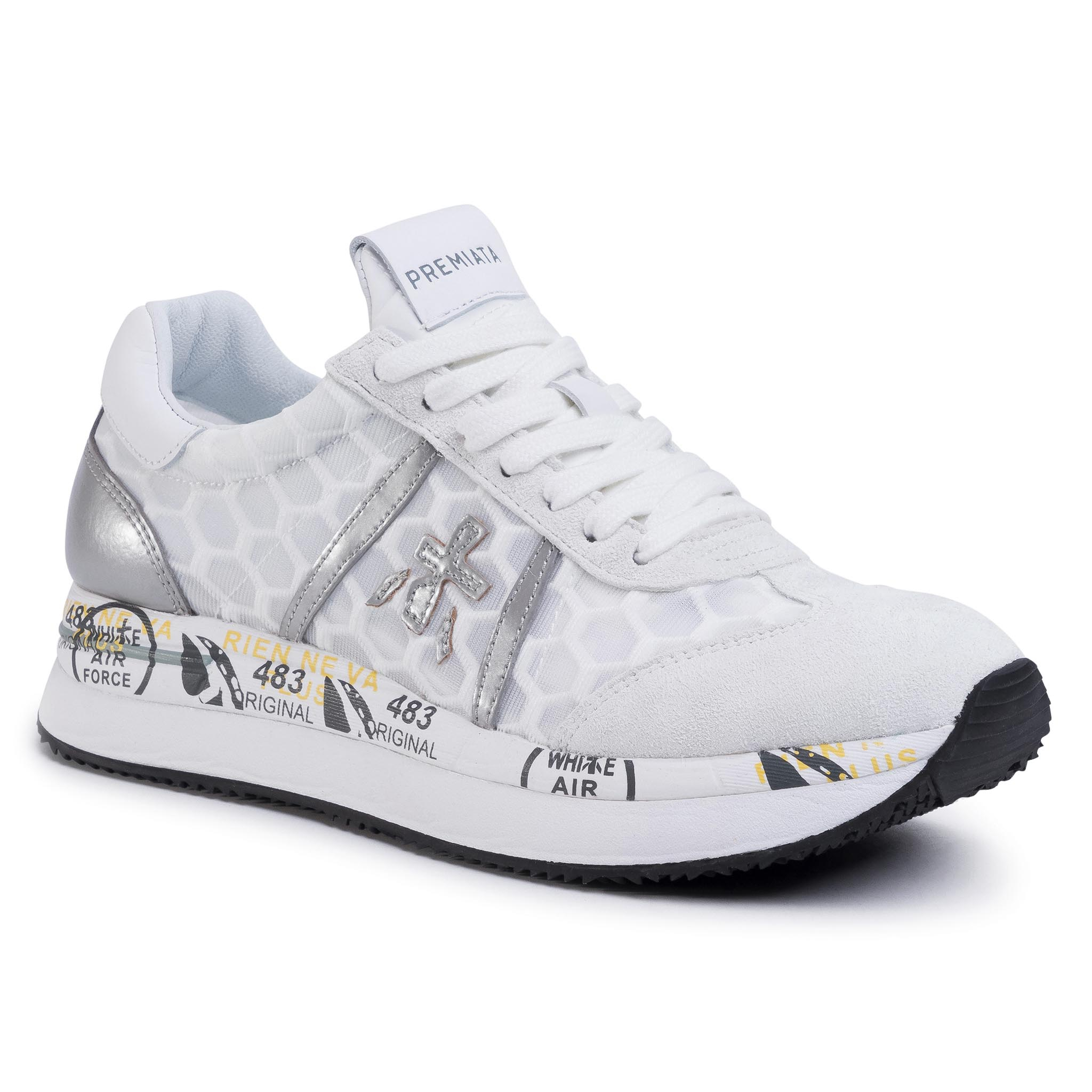 Sneakersy PREMIATA - Conny 4618 White