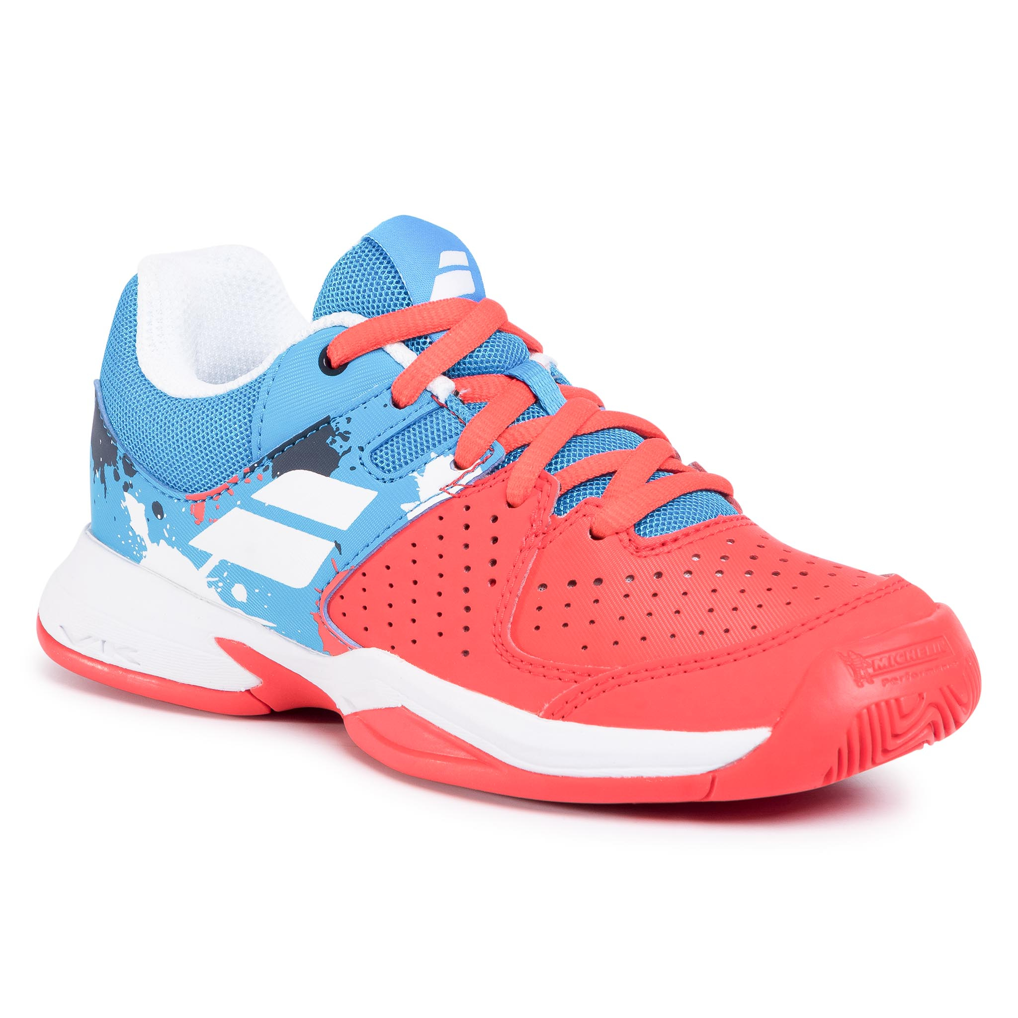 Batai BABOLAT - Pulsion All Court Jr 32S20482 Tomato Red/Blue Aster