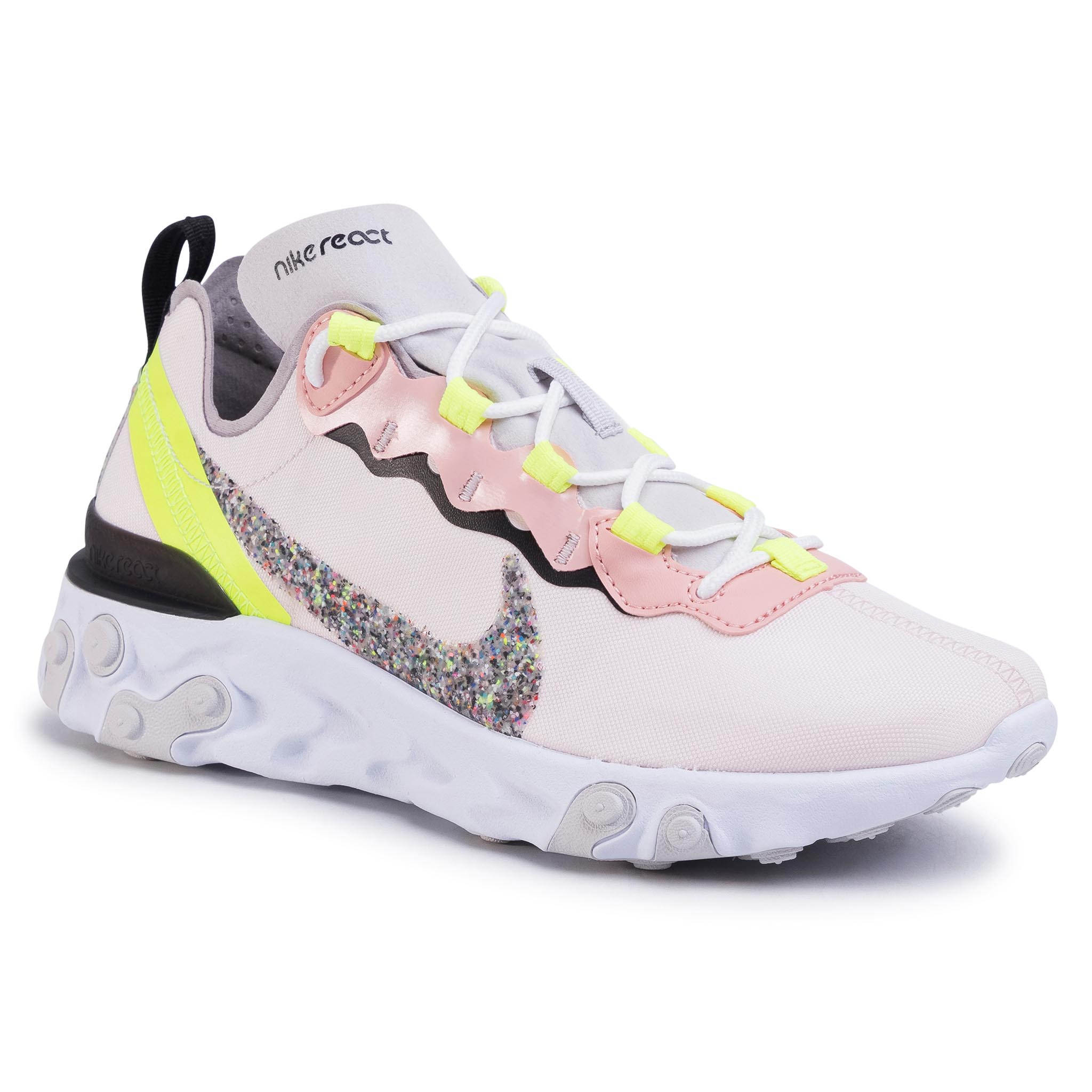 Buty NIKE - React Element 55 Prm CD6964 600 Light Soft Pink