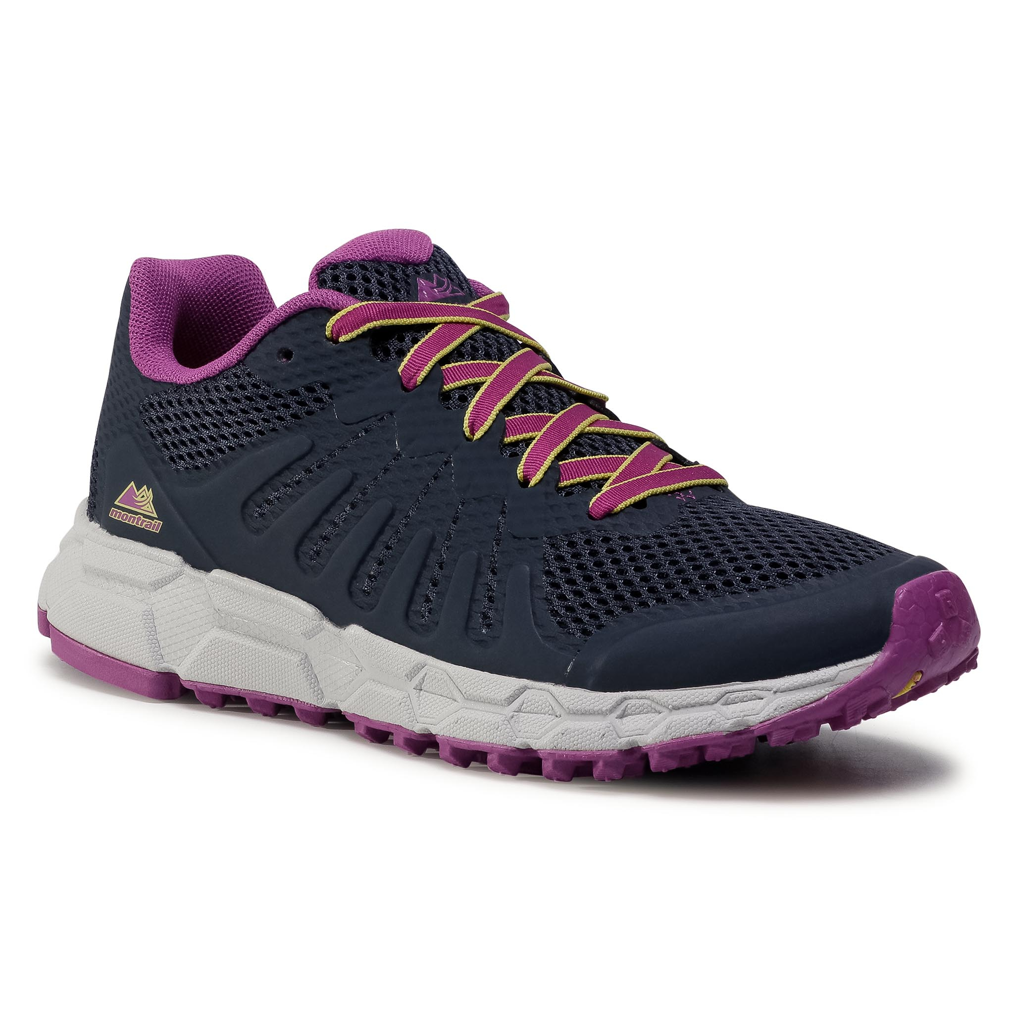 Batai COLUMBIA - Montrail F.K.T. Attempt BL0110 Abyss/Berry Jam 439