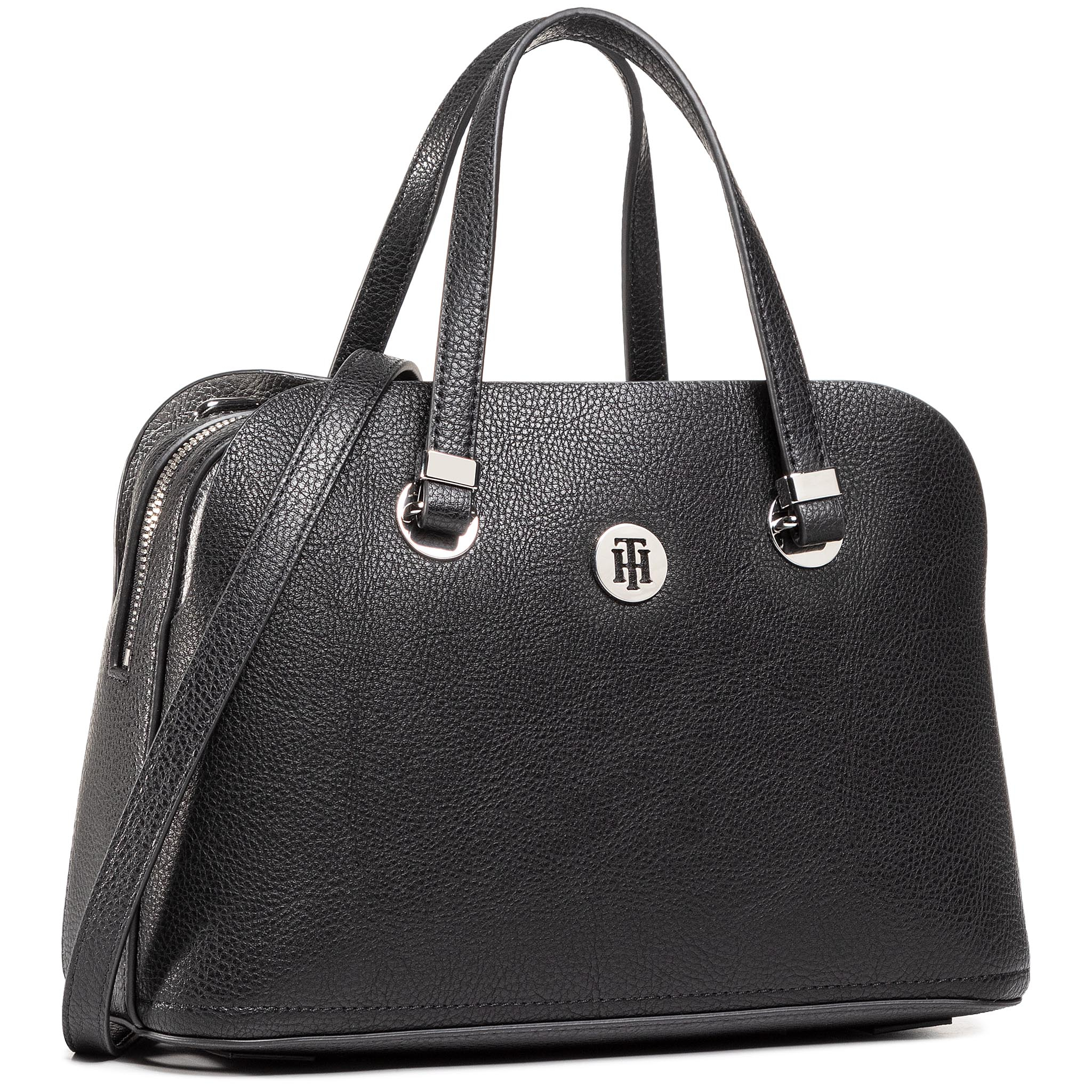 Rankinė TOMMY HILFIGER - Th Core Med Satchel AW0AW08601 BDS