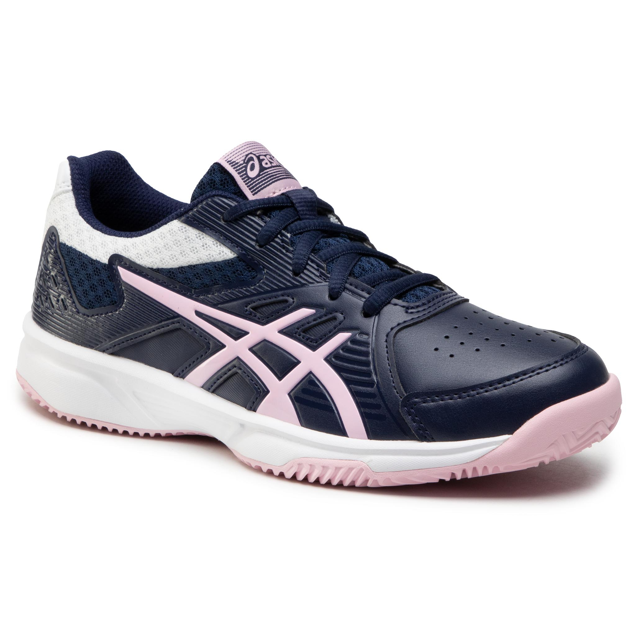 Batai ASICS - Court Slide Clay 1042A031 Peacoat/Cotton Candy 409