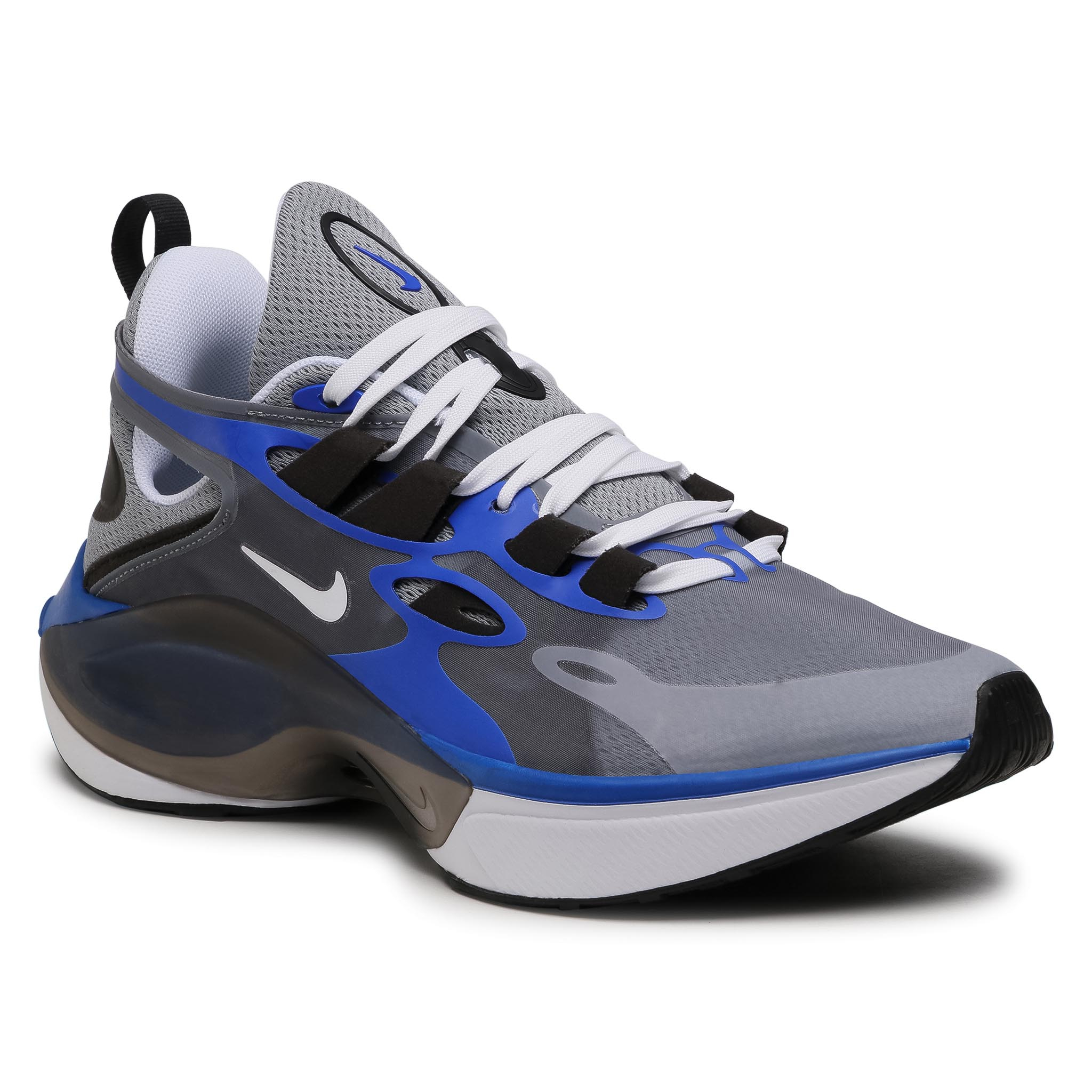 Batai NIKE - Signal D/MS/X AT53030 007 Particle Grey/White/Racer Blue