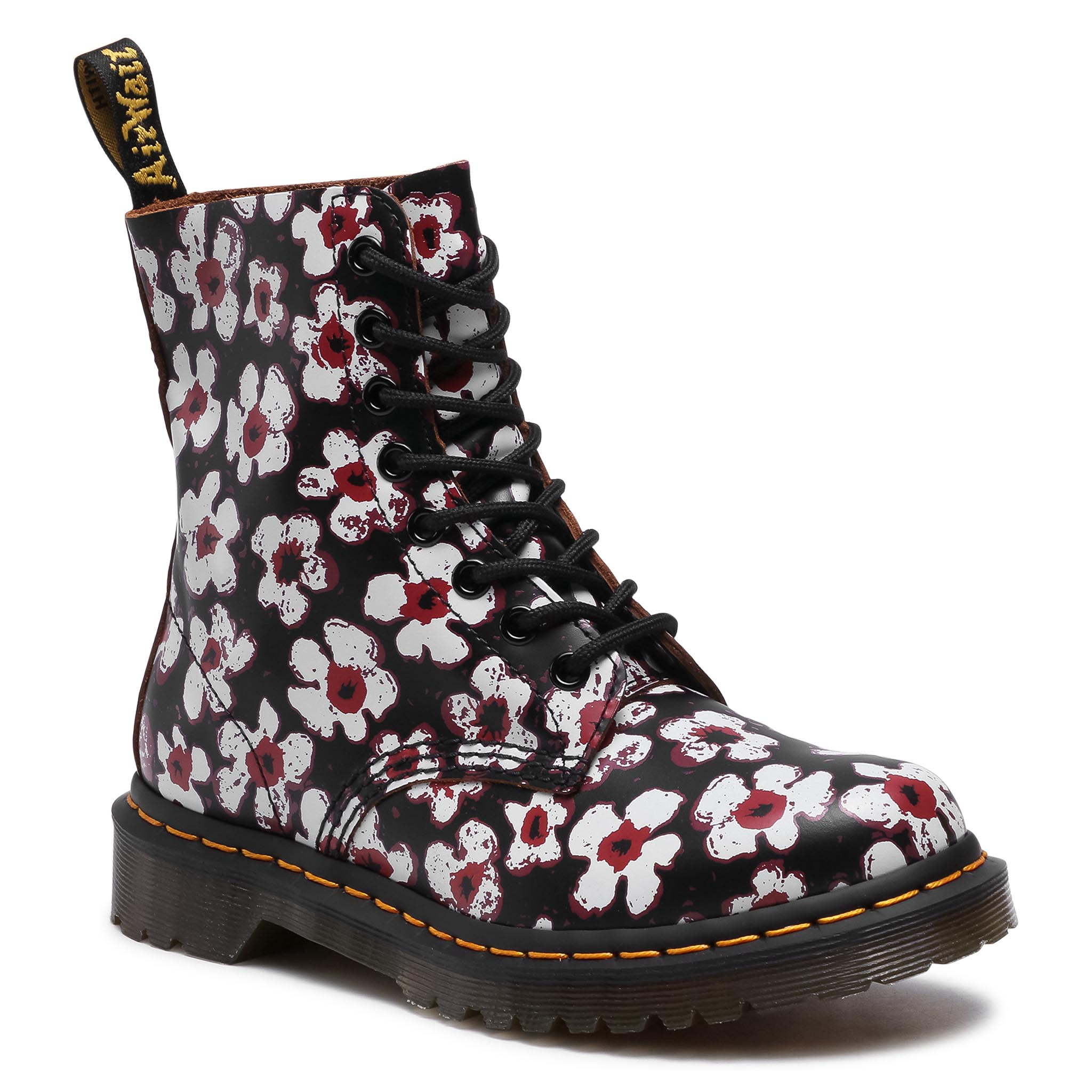 Kerzai DR. MARTENS - 1460 Pascal 26456002 Black/Red