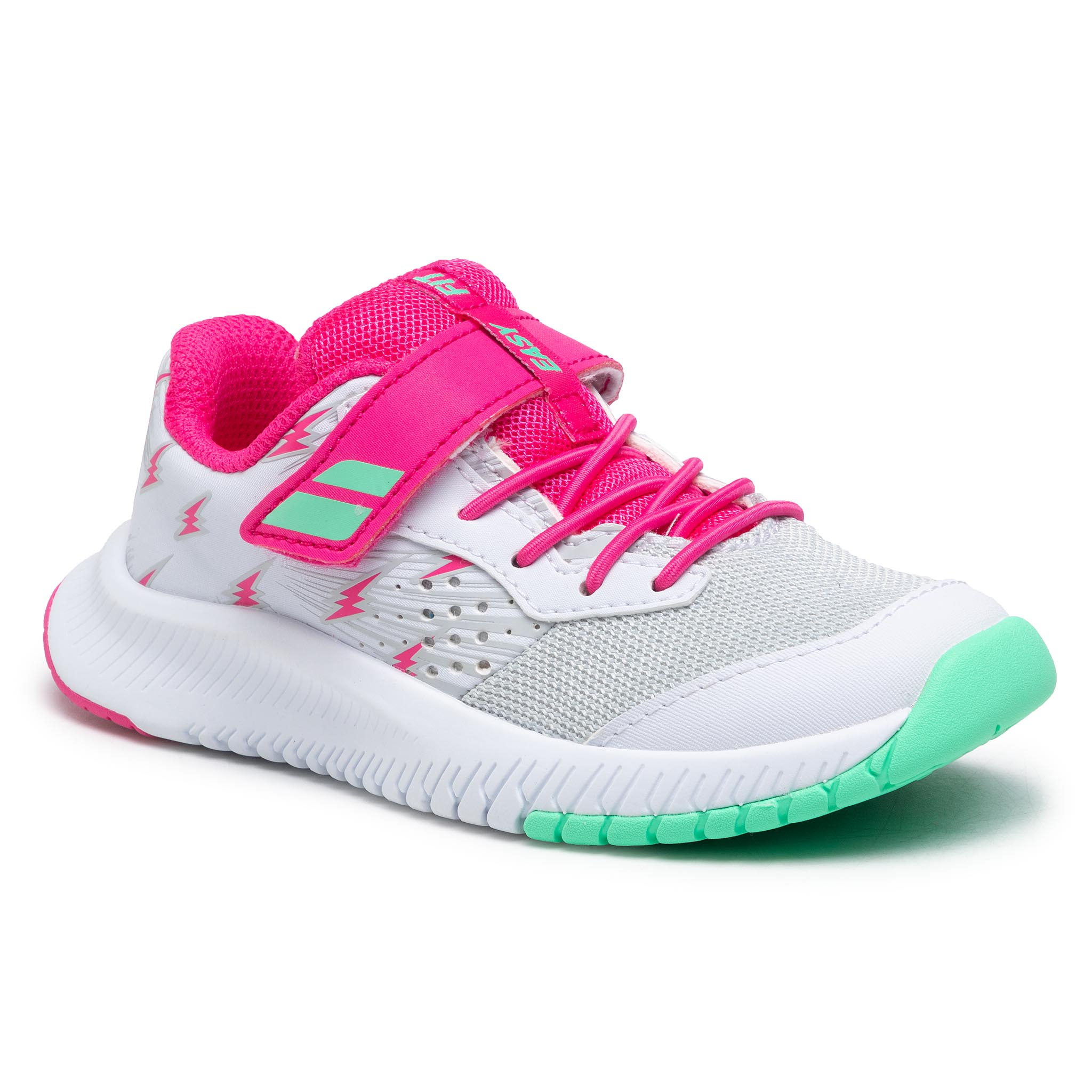 Batai BABOLAT - Pulsion All Court Kid 32S21518 White/Red Rose