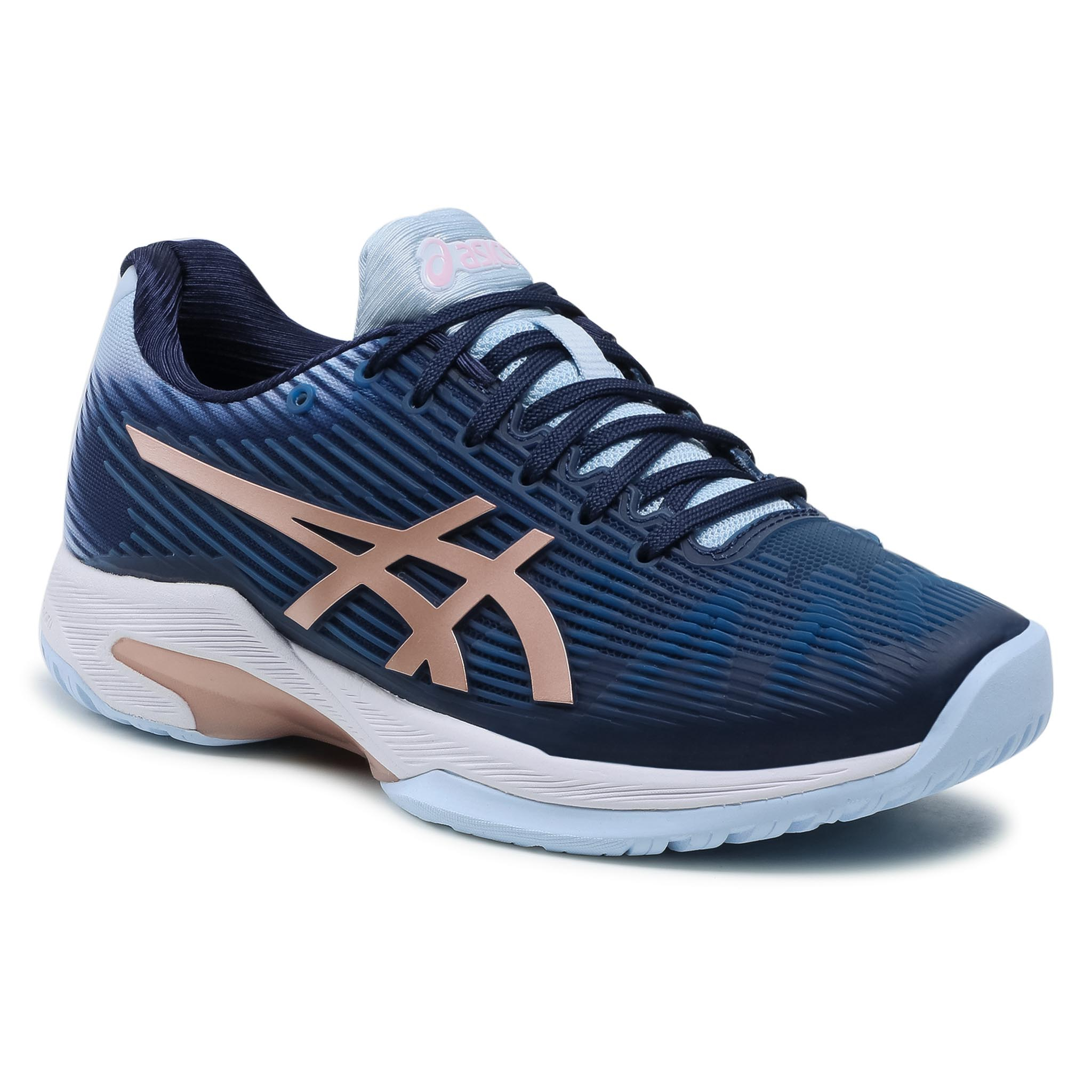 Batai ASICS - Solution Speed Ff 1042A002 Peacoat/Rose Gold 413