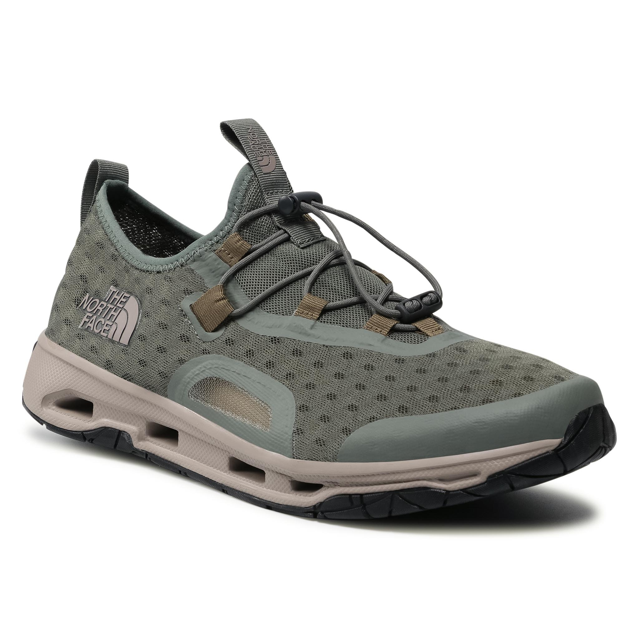 Batai THE NORTH FACE - Skagit Water Shoe NF0A48MAZH21 Agave Green/Military Olive