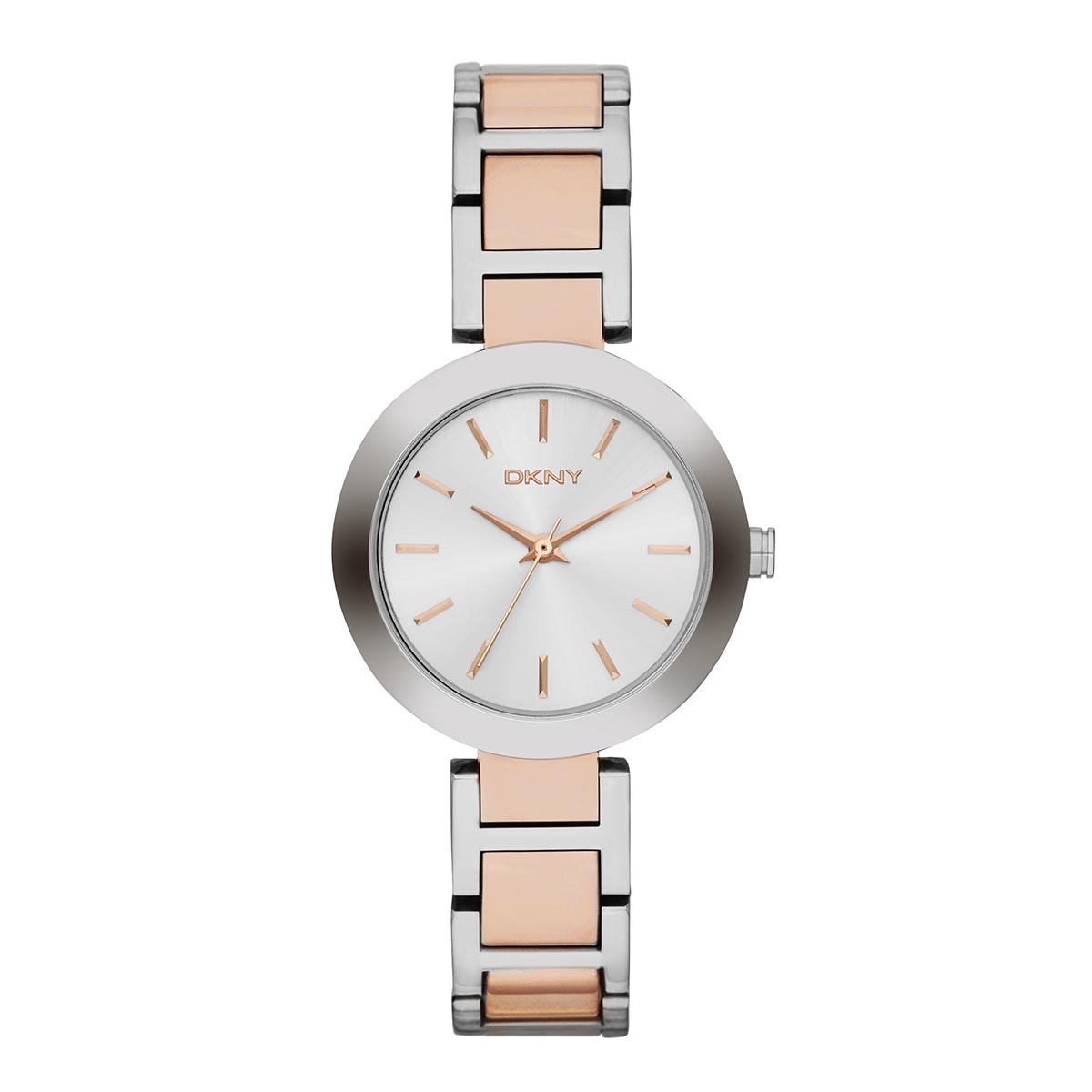Laikrodis DKNY - Stanhope NY2402 2T Silver/Rose/Silver/Steel