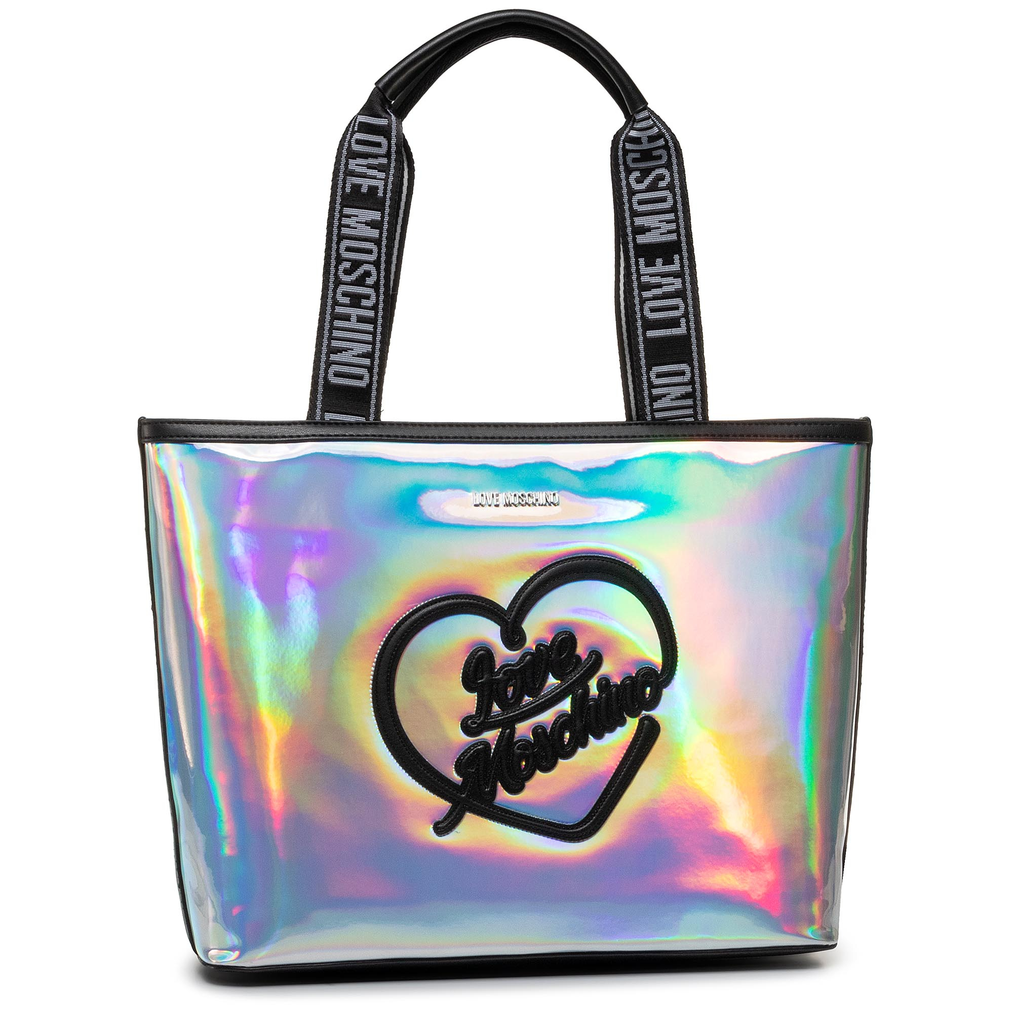 Torebka LOVE MOSCHINO - JC4018PP1ALC190A Hologram Pu Multicolor