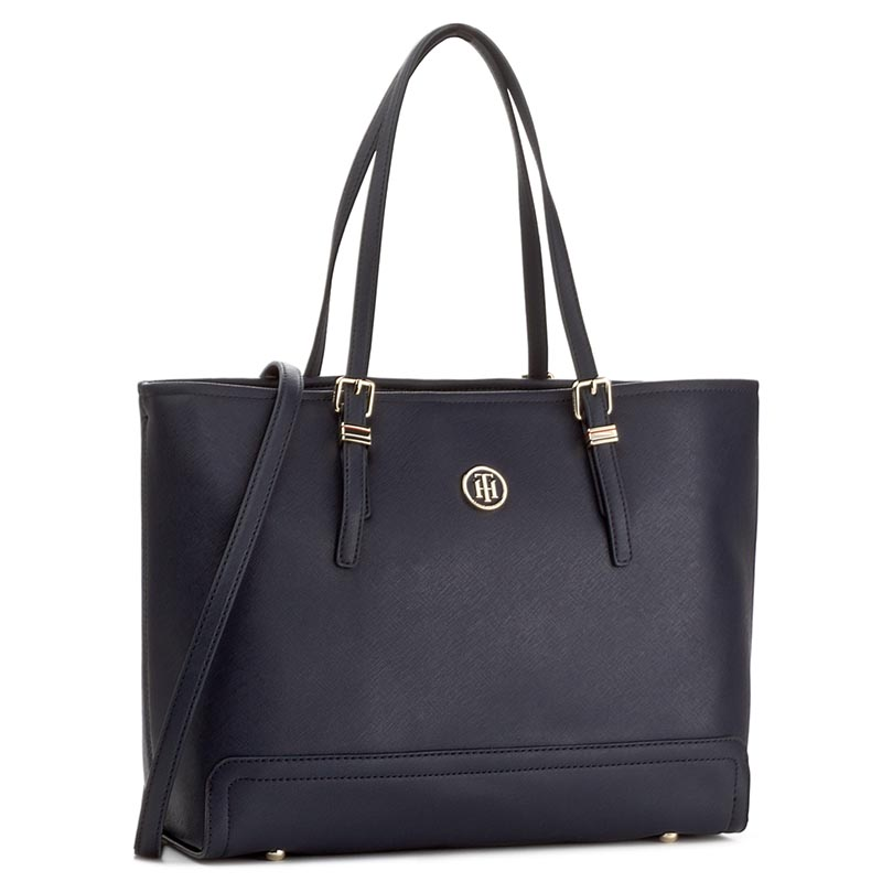 Rankinė TOMMY HILFIGER - Honey Med Tote AW0AW04547 413