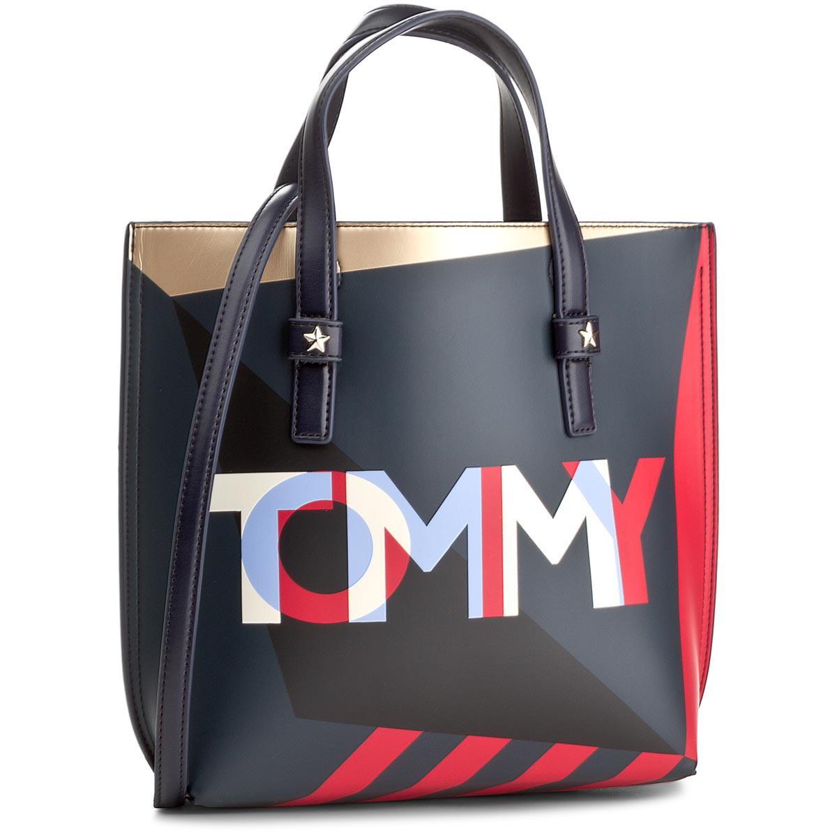 f3f3058c9d4c7 Torebka TOMMY HILFIGER - Th Effortless Tote Small Geo Cb AW0AW05058 905