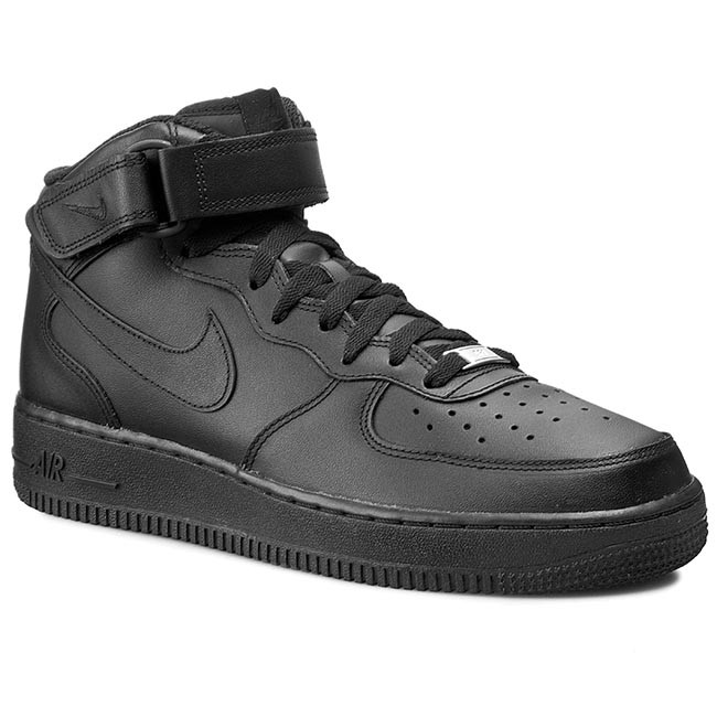 online store a1d01 10315 Buty NIKE - Air Force 1 Mid 07 315123 001 Black