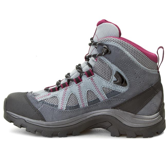 Trekkingi SALOMON Authentic Ltr Gtx GORE TEX W 373261 Pearl GreyGrey DenimMystic Purple