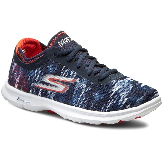 291a0bc826920 Buty SKECHERS - Go Step 14200/NVCL Navy/Coral - Fitness - Sportowe ...