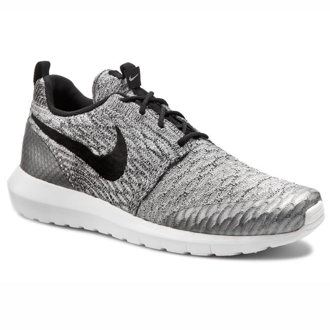 new products a4ac8 7d891 Buty NIKE - Roshe Nm Flyknit Se 816531 002 Wolf Grey/Black/White ...