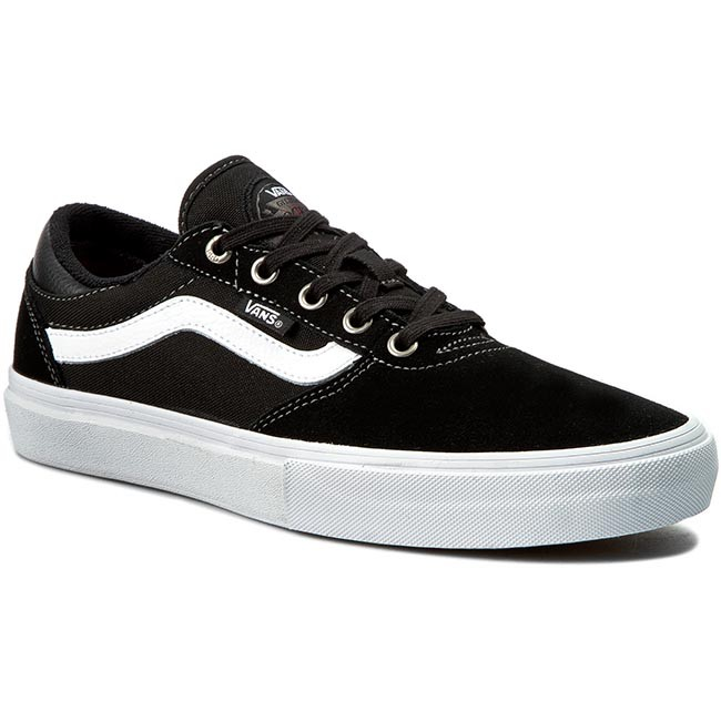 42e0ee1eece9d Sneakersy VANS - Old Skool Pro VN000ZD4Y28 Black/White - Sneakersy ...