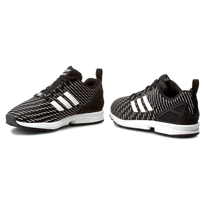 d2a43ad46 Buty adidas - Zx Flux S75525 Cblack Cblack Ftwwht - Sneakersy ...