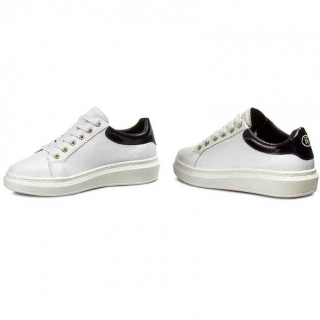 0dc97eed1005b Sneakersy TOMMY HILFIGER - Sabrina 1A FW56822036 White Midnight 100 ...
