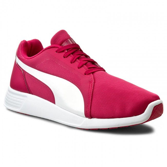 Półbuty PUMA - St Trainer Evo 359904 05 Rose Red White - Płaskie ... 1e209073339