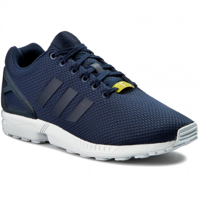 Buty adidas - Zx Flux M19841 Darkblue/Darkblue/Co - Sneakersy - Półbuty - Damskie