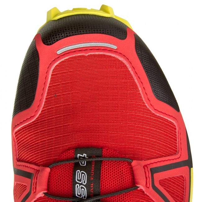 Buty SALOMON Speedcross 4 381154 27 V0 Radiant RedBlackCorona Yellow