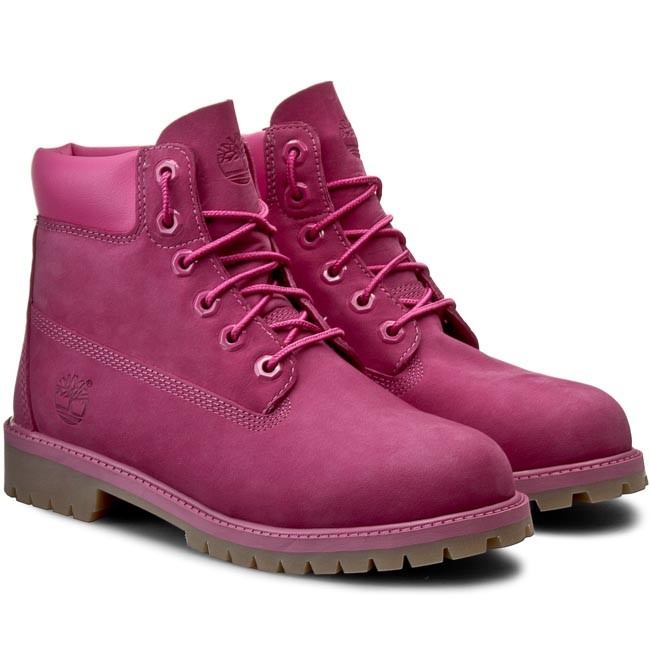 Trapery TIMBERLAND 6 In Premium Wp Boot A14YQ Pink