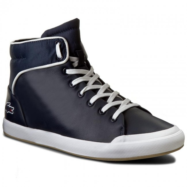 3895a0eee Sneakersy LACOSTE - Lancelle Hi Top 316 1 SPW 7-32SPW0166003 Nvy ...