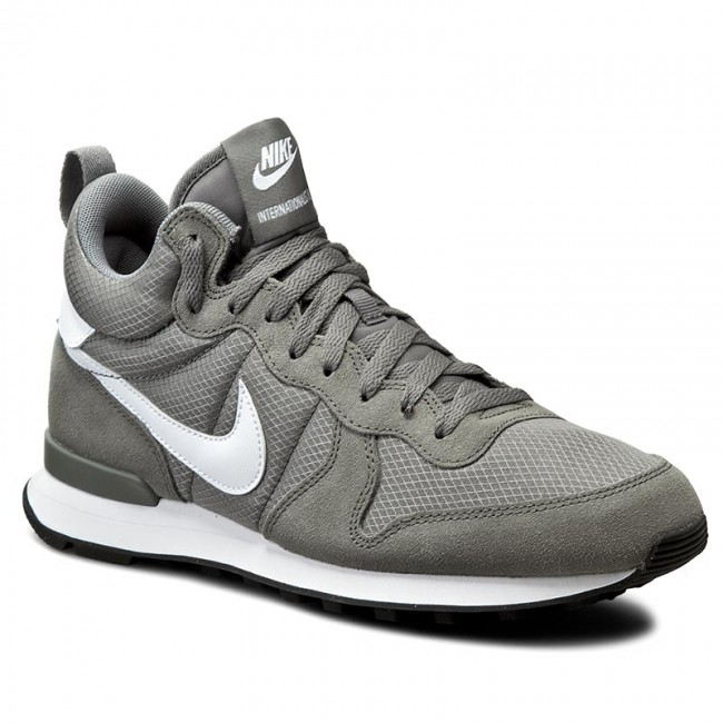 buy online 3af06 a59f1 Buty NIKE - Internationalist Mid 859478 002 Tumbled Grey/White/White ...