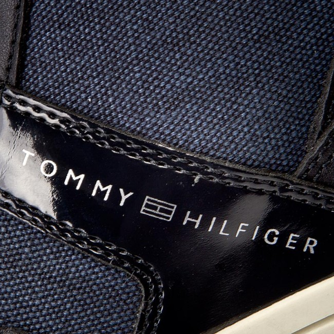 50a6a21baf5b2 Sneakersy TOMMY HILFIGER - Sebille Low 2C3 FW0FW01022 Midnight 403 ...