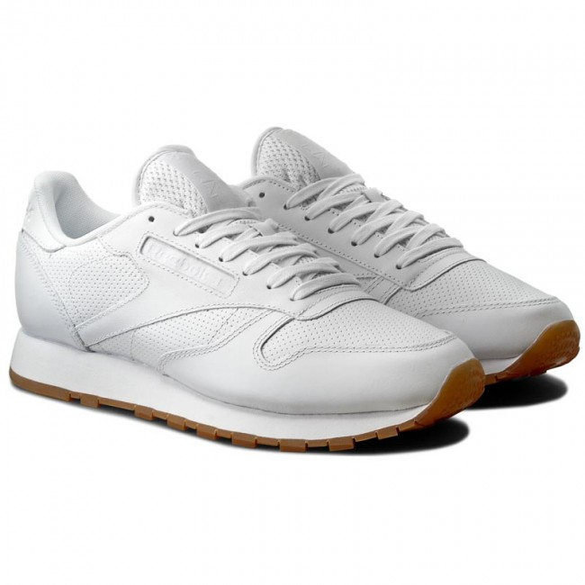 Buty Reebok Cl Leather Pg BD1643 WhiteCarbonSnowy Gre