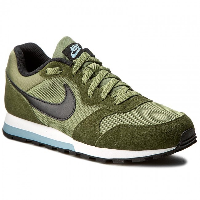 separation shoes b7d21 a4ad4 Buty NIKE - Md Runner 2 749794 300 Legion GreenBlackPalm Green