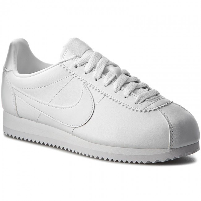 best website 0a3f2 03931 Buty NIKE - Classic Cortez Leather 807471 102 WhiteWhite