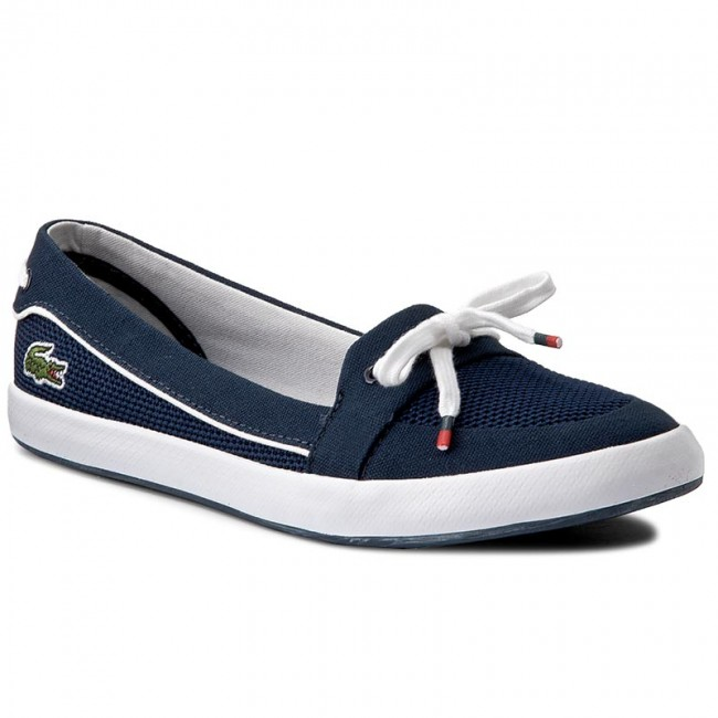 6120e5508065d Tenisówki LACOSTE - Lancelle Boat 117 1 Caw 7-33CAW1033003 Nvy ...