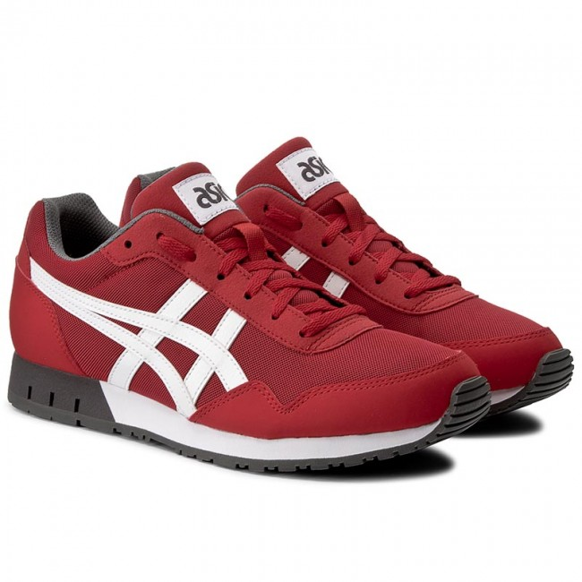 Sneakersy ASICS Curreo HN537 True RedWhite