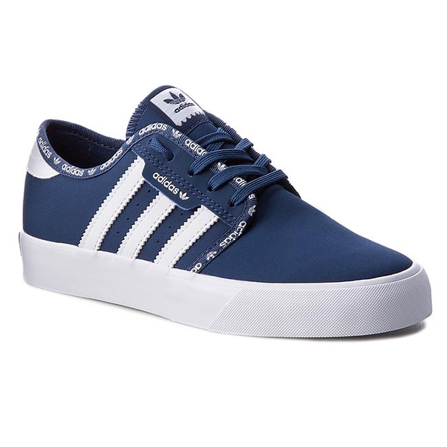 outlet store a0e33 705bb Buty adidas - Seeley J BB8498 MysbluMysbluFtwwht - Trampki .